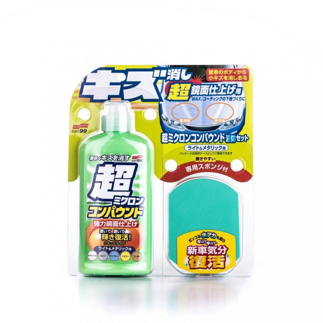 Soft99 Micro Liquid Compound Light 250ml (Cleaner) - GRUBYGARAGE - Sklep Tuningowy